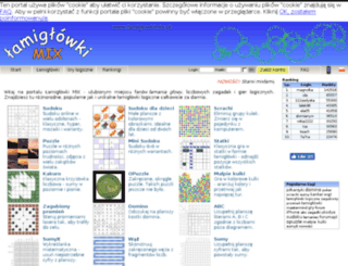 lamiglowkimix.pl screenshot