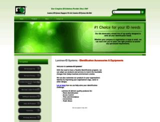 laminex-id.com screenshot