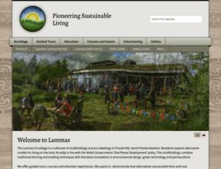 lammas.org.uk screenshot