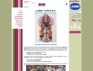 lammyyarns.com screenshot