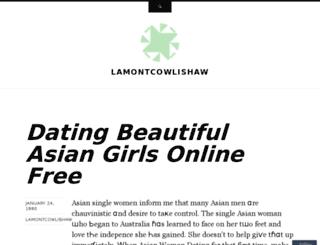 lamontcowlishaw.wordpress.com screenshot