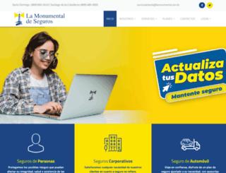 lamonumental.com.do screenshot