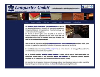 lamparter-ortho.com screenshot