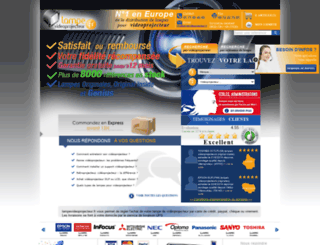 lampevideoprojecteur.fr screenshot