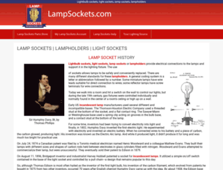 lampsockets.com screenshot