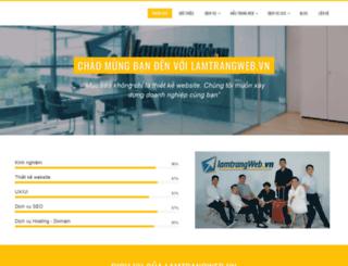 lamtrangweb.vn screenshot