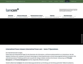 lan-con.de screenshot