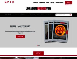 lancashirebusinessview.co.uk screenshot