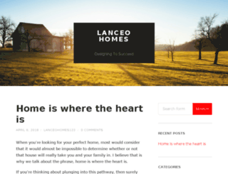 lanceo-home.com screenshot