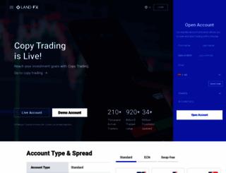 land-fx.com screenshot
