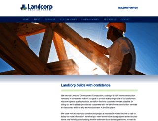 landcorp.ca screenshot