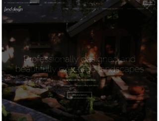 landdesignmn.com screenshot