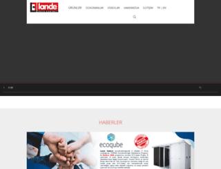 lande.com.tr screenshot