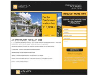 landing.altavistaproperty.com screenshot