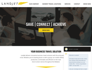 landjet.com screenshot