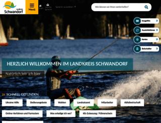 landkreis-schwandorf.de screenshot