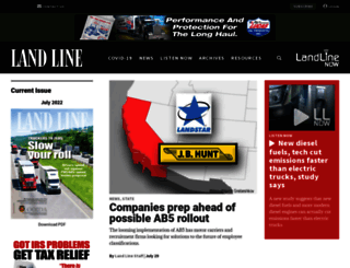 landlinemag.com screenshot