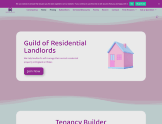 landlordsguild.com screenshot