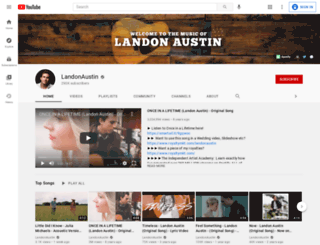 landonaustin.com screenshot