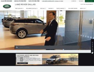 landroverdallas.com screenshot