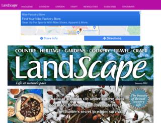 landscapemagazine.co.uk screenshot