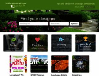 landscapeontario.com screenshot