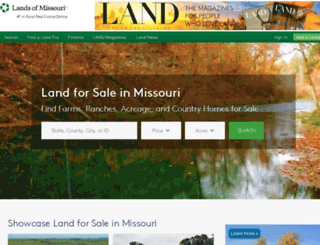 landsofmissouri.com screenshot