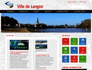 langon33.fr screenshot