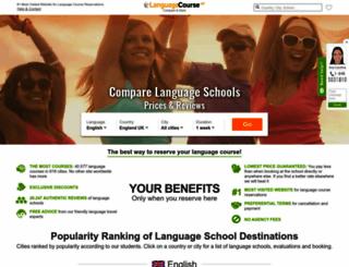 languagecourse.net screenshot