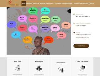 languagesafrica.com screenshot