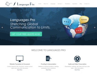 languagespro.com screenshot
