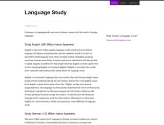 languagestudy.com screenshot