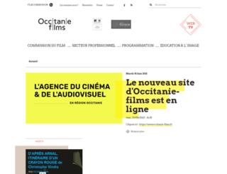 languedoc-roussillon-cinema.fr screenshot