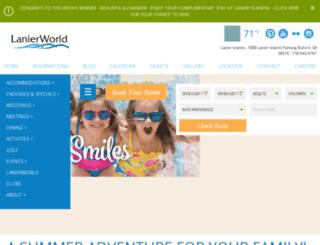 lanierworld.com screenshot