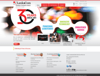 lankacom.net screenshot