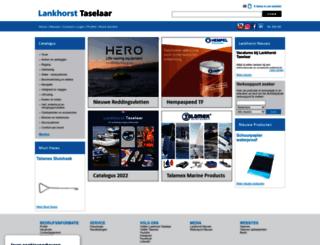 lankhorst-taselaar.nl screenshot