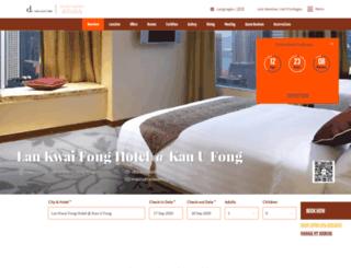 lankwaifonghotel.com.hk screenshot