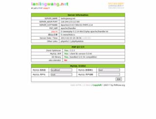 lanlingwang.net screenshot