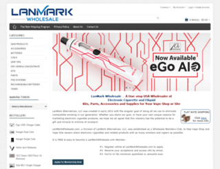lanmarkwholesale.com screenshot