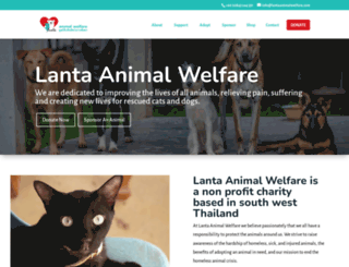 lantaanimalwelfare.com screenshot