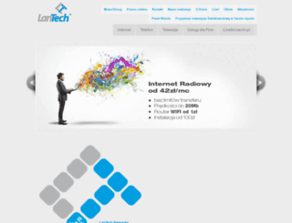 lantech.com.pl screenshot