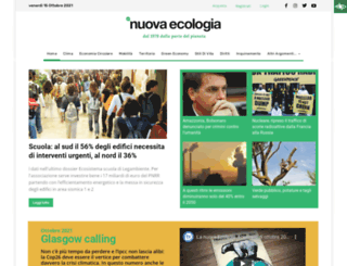 lanuovaecologia.it screenshot