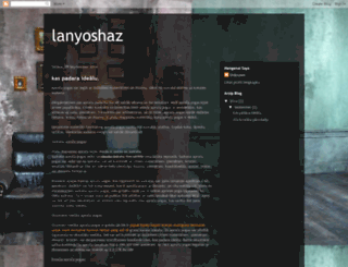 lanyoshaz.blogspot.com screenshot