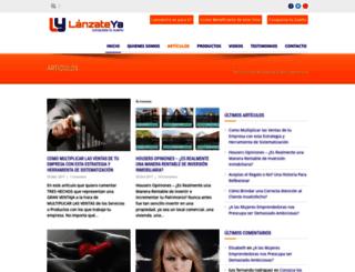lanzateya.com screenshot