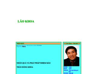 laokhoa.blogtiengviet.net screenshot