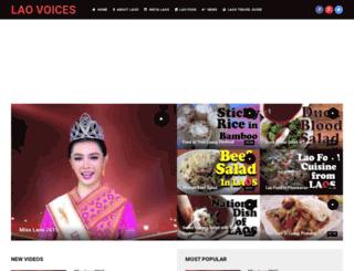 laovoices.com screenshot