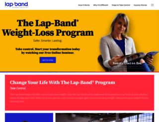 lapband.com screenshot