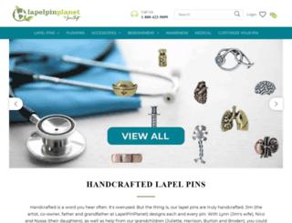 lapelpinplanet.com screenshot