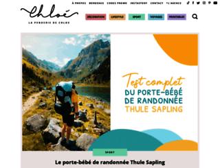 lapenderiedechloe.com screenshot