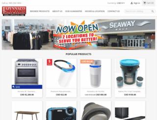 lapennaco.com screenshot